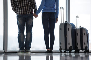 Valentine's breaks boost Manchester airport numbers by 10%