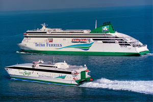 Irish Ferries reports strong summer peak trading