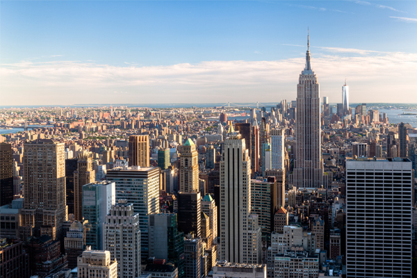 New York forecasts upturn in UK visitors in 2018
