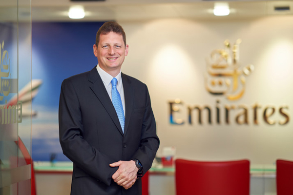 Emirates appoints new UK boss as Laurie Berryman retires