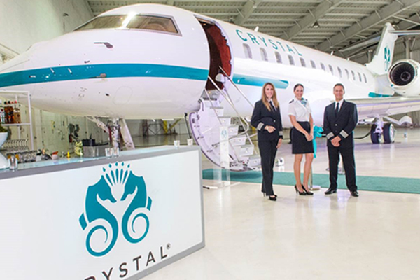 Crystal Cruises to launch 12-seat charter jet service