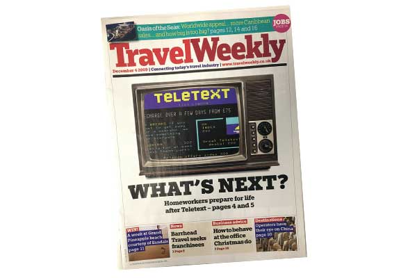 This week in: Featuring Teletext, Best Travel and Travex Tours