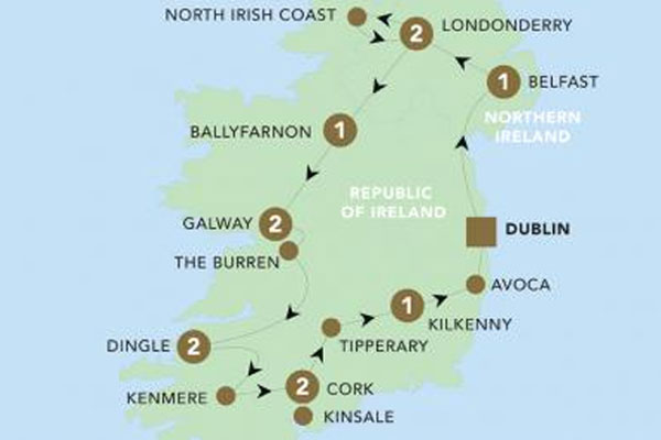 Fancy joining a Back-Roads Tour in Ireland for FREE?