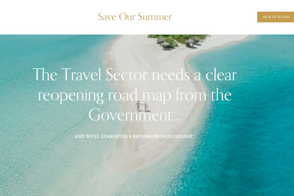 Save Our Summer sets out rationale for May 1 restart in letter to PM