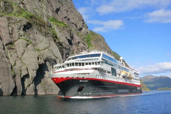 Hurtigruten cancels cruises departing in March from Dover