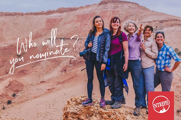Intrepid seeks exceptional women in travel nominees