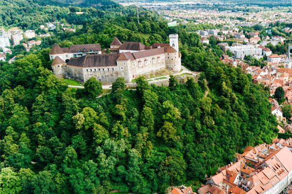 Discover the wonders of Ljubljana, Slovenia's compact capital