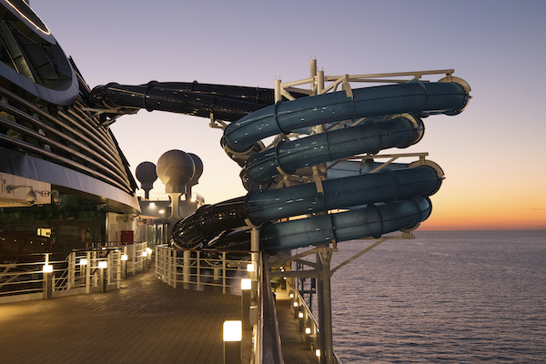 MSC Seaside will sail in western Med from May