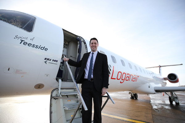 Loganair confirms Teesside-Heathrow route launch