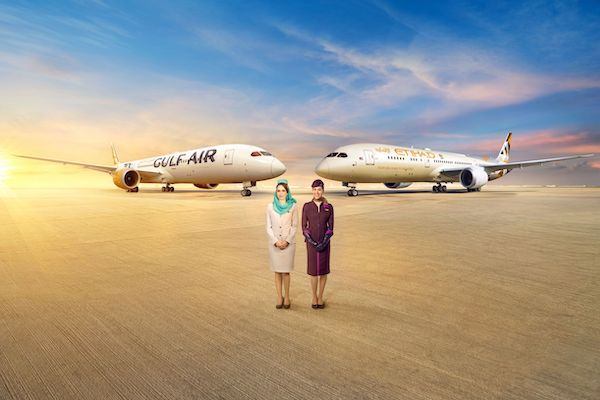 Gulf Air and Etihad Airways expand their partnership