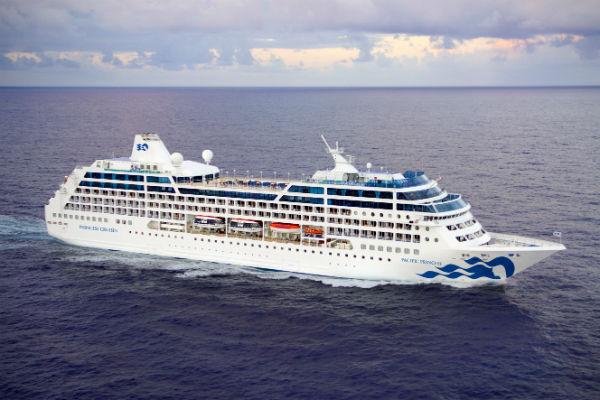 Princess Cruises sells small ship Pacific Princess